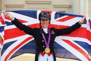 Charlotte Dujardin en los Juegos de Londres 2012