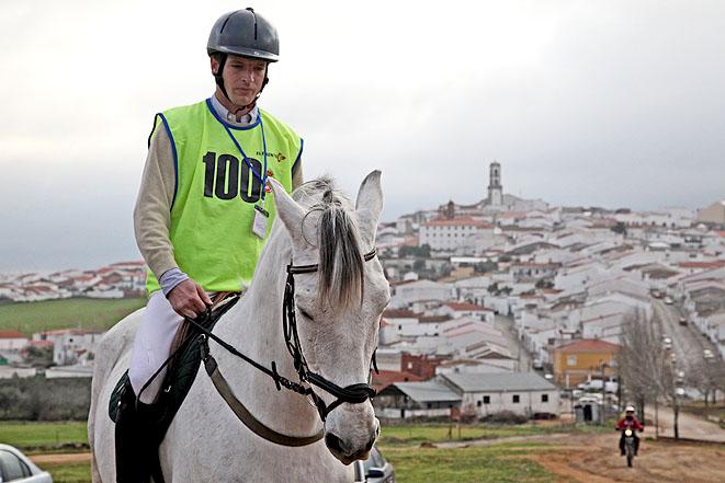 Ángel Peralta con 'Payaso II'