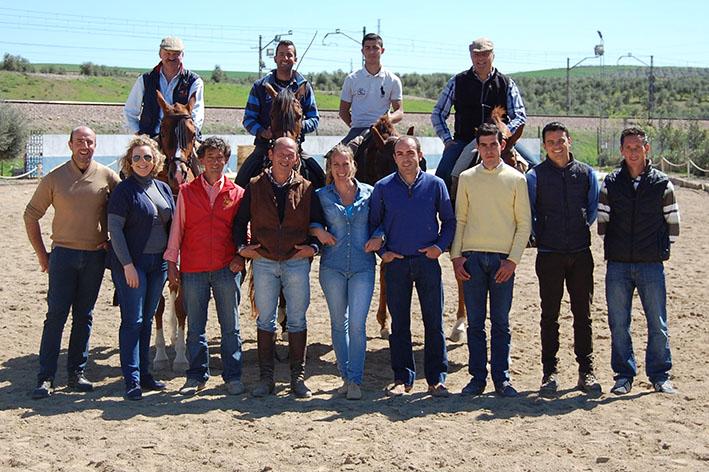 Asistentes al clinic impartido por Francisco Díaz Rodríguez 'Pajito'.