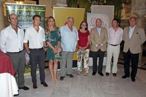 Ponentes, autoridades y organizadores del encuentro