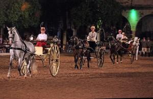 Componentes del Club de carruajes de Tradición de Córdoba. Foto: Ramón Azañón