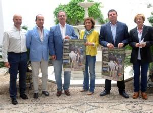 Presentación del cartel del III Encuentro Ecuestre Sierra de Cardeña. Foto: Diputación de Córdoba.