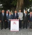 La comisión de Justicia y Caballo acompañando a los homenajeados.